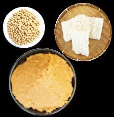 お味噌の材料