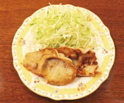 豚の塩麹生姜炒め